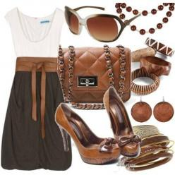 Women's Clothing│Ropa de Mujer - #Women - #Clothing: Women S, Outfits, Fashion, Style, Clothing, Clothes, Dream Closet, Dresses, Brown