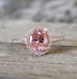 Hey, I found this really awesome Etsy listing at http://www.etsy.com/listing/154017727/153-cts-pink-peach-sapphire-diamond-halo