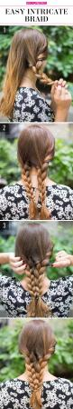 15+Super-Easy+Hairstyles+for+Lazy+Girls+Who+Can't+Even+  - Cosmopolitan.com: Can T, Intricate Braid, Hair Styles, Lazy Girl Hairstyles, 15 Super Easy, Braided Hairstyles, Super Easy Hairstyles, Dr. Who, Lazy Girls