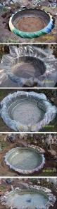 8 Awesome and Simple Ideas that are Borderline Crafty | FB TroublemakersFB Troublemakers: Water Feature, Pond Idea, Small Backyard, Tire Pond, Tractor Tire