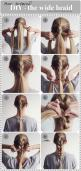 - An easy everyday hairdo - Først og fremmest – tusind tak for jeres positive respons på mit...: Simple Hair Tutorial, Everyday Hairdo, Blake Hairstyles, Wide Braid, Fat Braid, Diy Hairstyles Easy