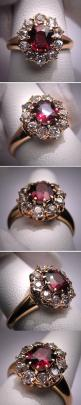 Antique Garnet Diamond Wedding Ring Vintage Victorian. If you want the best officiant for your Outer Banks, NC, ceremony, contact Rev. Barbara Mulford: myobxofficiant.com/: Vintage Ring, Diamond Wedding Rings, Wedding Ring Vintage, Antique Wedding Ring, V