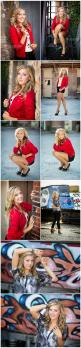 Awesome Senior Style! | Susie Moore Photography - Part 3: Senior Picture, Photography Senior, Bright Color, Senior Photo, Senior Girls, Photo Senior