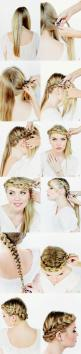 gorgeous crown braid: Hairstyles, Hair Tutorials, Crown Braids, Crown Braid Tutorial, Braid Tutorials, Hair Styles, Beauty