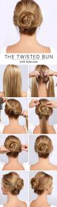 Hairstyle ideas and tutorials on http://pinmakeuptips.com/hot-styles-for-shoulder-length-hair/: Twisted Bun, Hairstyles, Hairdos, Hair Styles, Hair Bun, Hair Tutorial, Hair Do, Updo