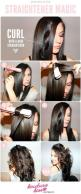 hairstyle tutorial: Flat Irons, Hair Ideas, Hairstyles, Make Up, Hair Styles, Hair Tutorial, Makeup, Curls, Flatiron