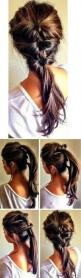 .Have I pinned this before? If I have, I know what I like.......: Pony Tail, Hairstyles, Hair Styles, Hairdos, Hair Do, Cute Ponytail, Updo