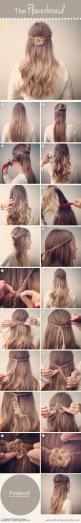 How to Braid Your Hair Into a Pretty Flower  #Latest Hairstyles #Yet another beauty site: Hairstyles, Hair Flower, Hair Styles, Hair Tutorial, Flowerbraid, Pretty Flower, Flower Braids