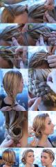 How To Style A Long Hair.. great idea for a holiday or special event!!! I wish I could do something like this. I think my hair would look so cool with the different colors I have in it.: Hair Ideas, Hairstyles, Hair Styles, Makeup, Long Hair, Hair Tutoria
