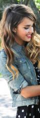 love the style and looks like my natural ombre color too! ;): Hairstyles, Hair Colors, Hair Hair, Hair Styles, Hair Makeup, Jessica Alba, Pretty Hair, Hair Colour