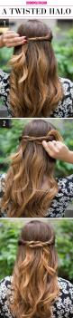 Oh my gosh! I was so shocked by how easy and cute this looks!!! Ahhh!!! #inlove: 15 Super Easy, Easy Hair Style, Girl Hairstyles, Super Easy Hairstyles, Half Up Hairstyle, Lazy Girls