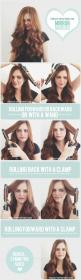 Our favorite trick to getting the perfect curl! Check out the full story by clicking the photo. xo: Diy Hairstyles, Hair Tutorials, Curling Hair, Curling Irons, Hair Styles, Symmetric Curls, Symmetrical Curls, Hair Tips