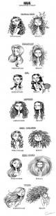 ☾pinterest: @ / aef //: Hair Humor, Truth, So True, Hair Problem, Expectation Reality, Expectation Vs Reality, Hair Expectations, Curly Hair