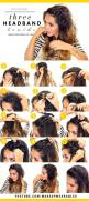 Pull hair away from your face without having to sacrifice style by braiding along the hairline using three different techniques: French braiding, a standard braid that weaves strands of non-braided locks into it, and a non-braiding trick that involves twi