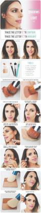 The Beauty Department: Your Daily Dose of Pretty. - page 4: Make Up, How To Contour, Beauty Tips, Makeup Tips, Hair Makeup, Makeup Ideas, Makeuptip