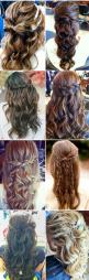 The top left bow is so cute and the bottom left! those are my top two hair picks for my wedding :) <3: Hair Ideas, Hairstyles, Half Up, Homecoming Idea, Homecoming Hairstyle, Hair Styles For Wedding, Wedding Hair Style