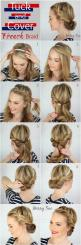 This Tuck and Cover French Braid is the perfect way to keep hair out of your face during the hot summer!: French Braids, Hairstyles, Hair Styles, Hairdos, Hair Do, Updo, Tuck And Cover
