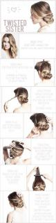 Very cute looks easy to do: Hair Ideas, Hairstyles, Messy Bun, Hair Styles, Hairdos, Makeup, Twisted Sister, Updos, Hair Do
