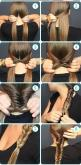 Wonderful Waterfall Braid Tutorials: Messy Fishtail Braid, Hairstyles, Hair Styles, Makeup, Fishtail Braid Tutorial, Hairstyle, Fish Tail Braid, Fishtail Braids