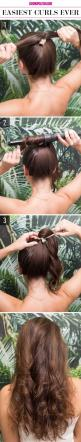 15 Super-Easy Hairstyles for Lazy Girls Who Can't Even: Lazy Girl Hairstyle, Long Hair Style, Quick Hair Style, Super Easy Hairstyle, Hairstyles, Easy Hair Style, Quick Easy Hairstyle
