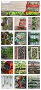 21 DIY Versatile Vertical Gardens | by 'Ginger Snap Crafts' blog! If our life ever progresses...and we can get a yard....or something.: Garden Ideas, Yard, Versatile Vertical, Diy Versatile, Vertical Gardens, Snap Crafts, Jardin Vertical