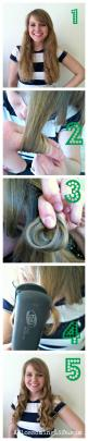Flat Iron Curl Your Hair the easy way! {aka Finger Curls}: Flat Irons, Curls Step, Hairstyles, Easy Curls, Hair Styles, Aka Finger, Flat Iron Curls Tutorial, Finger Curls