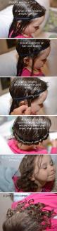 How To Make Heatless Curls in Hair: Curling Hairstyles, How To Curl, Easy Hair Curls, Hair Style, Curled Hairstyles, Hairstyles Kids, Curl Hairstyles, Heatless Hairstyles, Heatless Curls