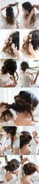 Nice plait upsweep #howto: Braided Updo, Hairstyles, Hair Styles, Makeup, Braids, Updo Tutorial, Braided Up Do, Braided Bun