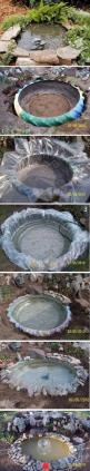 Repiny - Most inspiring pictures and photos!: Water Feature, Pond Idea, Small Backyard, Tire Pond, Tractor Tire