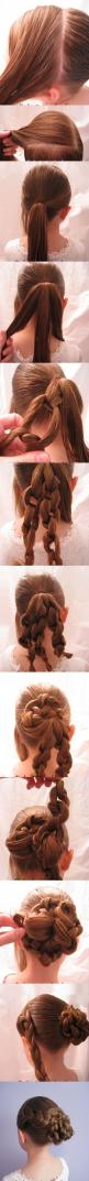 Super Easy Knotted Bun Updo and Simple Bun Hairstyle Tutorials: Easy Knotted, Bun Hairstyles, Hair Styles, Hairstyle Tutorials, Super Easy, Bun Updo, Simple Bun, Bun Hairstyle Tutorial, Knotted Bun