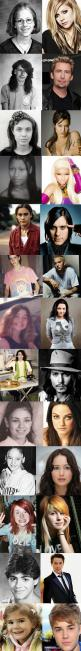 The Last One... hilarious! :D: Celebrity, Justin Bieber, Famous People, Funny Picture, Funny Stuff, Celebrities, Celebs