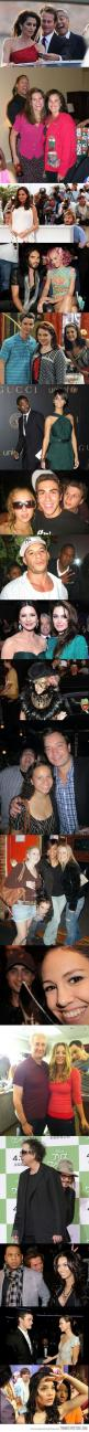 Two things: 1. I want to be photobombed by a celebrity  and 2. I love that Beyonce got bunny ears. I bet she's the type that would be pissed about it too.: Celebrities Trollin, Celeb Photobombs, Celebrity Photos, Celebrities Photobombing, Funny Stuff,
