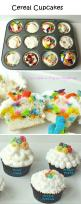 20 Cupcake Ideas That Will Keep You Nom Nomming, cereal cupcake: Cup Cakes, Sweet, Cupcake Recipes, Food, Cupcake Ideas, Cereal Cupcakes, Photo, Dessert, Kid
