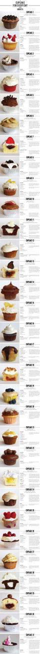 30 Cupcake Recipes: Cupcakes Cake, Cuppycake, Cupcake Recipes, 31 Cupcakes, Cup Cake, Sweet Tooth, Dessert