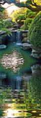 """""""Beside still water ~ my soul did rest  upon the wind of peace ~  that blew away life's troubled thoughts  to grant my heart's release."""": Garden Waterfall, Water Features, Japanese Gardens, Divine Inspiration, Place, Photo, Water Garden, N"""