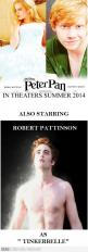 busting a gut..... can't stop laughing!!!!: Peter O'Toole, Robert Pattinson, Emma Watson, Funny, Peterpan, Peter Pan Movie, Harry Potter, Funnies