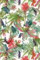 January printColourway 1 © Shelley Steer: Inspiration, Pattern, Tropical Flower, January Printcolourway, Print Colourway, Fabric, Design, Print