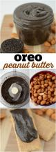 Oreo Peanut Butter - only 2 ingredients to a fast and easy homemade chocolate peanut butter recipe!: Easy Sweet Treats, Feeling, Food, Fast Cookie, Easy Sweets Desserts, Fast Sweet Treats, Butter Recipe, Homemade Chocolate