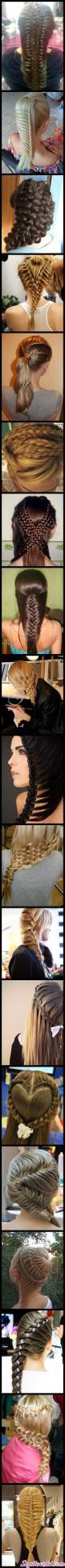 Wow Braids: Braids Hairstyles, Awesome Hair, Hairdos, Hair Styles, Braids Braids, Hair Do S, Holy Braids, Crazy Braids