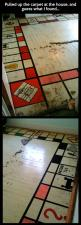 Big surprise under the carpet // funny pictures - funny photos - funny images - funny pics - funny quotes - #lol #humor #funnypictures: Game Rooms, Idea, Funny Pictures, Monopoly Board, Big Surprise, Carpet, Funny Photos, Be Awesome