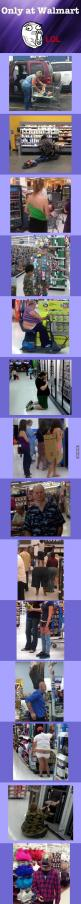 Only at Walmart: Giggle, Walmartians, Guy, At Walmart, Funny Stuff, Funnies, Walmart People, People Of Walmart
