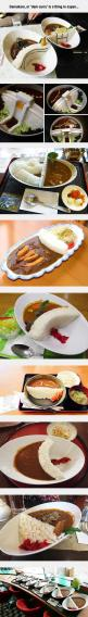 That Looks Delicious: Awesome Food, Creative Foodies, Funny Pictures, Bento, Crazy Food, Dam Curry, Fun Things, Food Dam, Food Fun