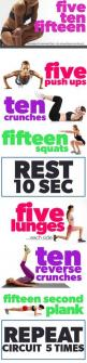 The FIVE-TEN-FIFTEEN Circuit Workout! You're looking for small workouts! This is a good one. :): Workout Exercise, Easy Workout, Total Body Circuit, Body Workout, Exercise Workout, Body Shape, Work Out Routine, Easy Exercise, Circuit Workout