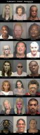 these names are awesome...the pics are just creepy lol: Finest Mugshots, Bob, Funny Mugshots, Florida S Finest, Funnies, Humor, Things, Funny Scary Mugshots