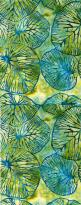 textile batik technique - blue, yellow, green leafs | Find more: www.pinterest.com/AnkApin/patterns: Batik Pattern, Leaf Pattern, Leaf Design, Green Leaf, Textil Pattern, Batik Design