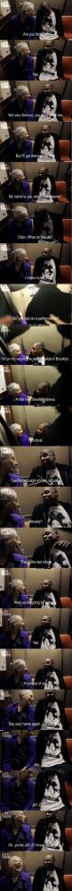 This is adorable: Giggle, Jay Z, Funny, Jayz, Old People, Funnie, Old Ladies