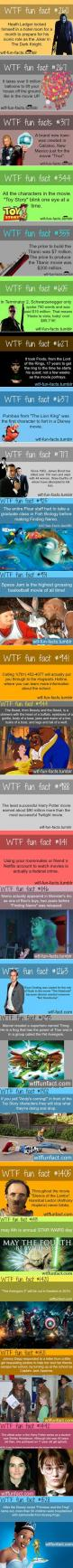 WTF Fun Facts about movies