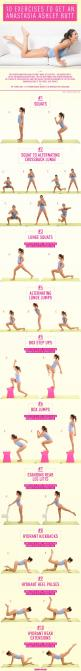 10 Moves to Get a Butt Like Anastasia Ashley - Learn the pro surfer's secrets.: Anastasia Ashley, Health Fitness, At Home Butt Workout, Surfer S Secrets, Workout Routine, Pro Surfer S, Butt Workouts, At Home Workout, 10 Moves
