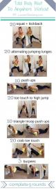 """-scroll over image to """"pin it"""" or click to save it to your phone/computer- Workout Download: Want more out of this workout?! The downloadable workout version includes my personal training tips and explanations on all the exercises listed + a meal"""