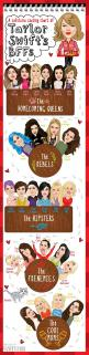 The Illustrated Guide to Taylor Swift's BFFs, from Hipsters to Homecoming Queens | Vanity Fair: Hipster, Taylorswift, Vanity Fair, Best Friends, Homecoming Queens, Swift S Bffs, Taylor S Friends